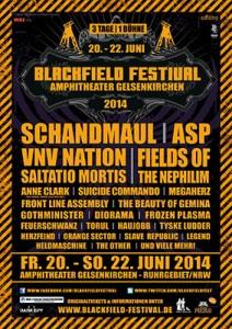 Blackfield Festival 2014 Poster