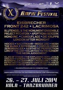 Amphi Festival 2014 Poster