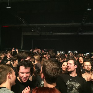 Saltatio Mortis – Alea beim Crowdsurfing