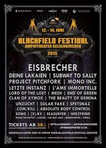 Blackfield Festival 2015 Poster