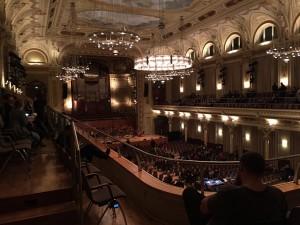 Blick in den großen Saal