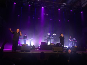 VNV Nation und Stephan Groth (Apoptygma Berzerk)